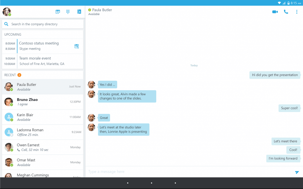Skype plays a big role in a small business in the digital age.