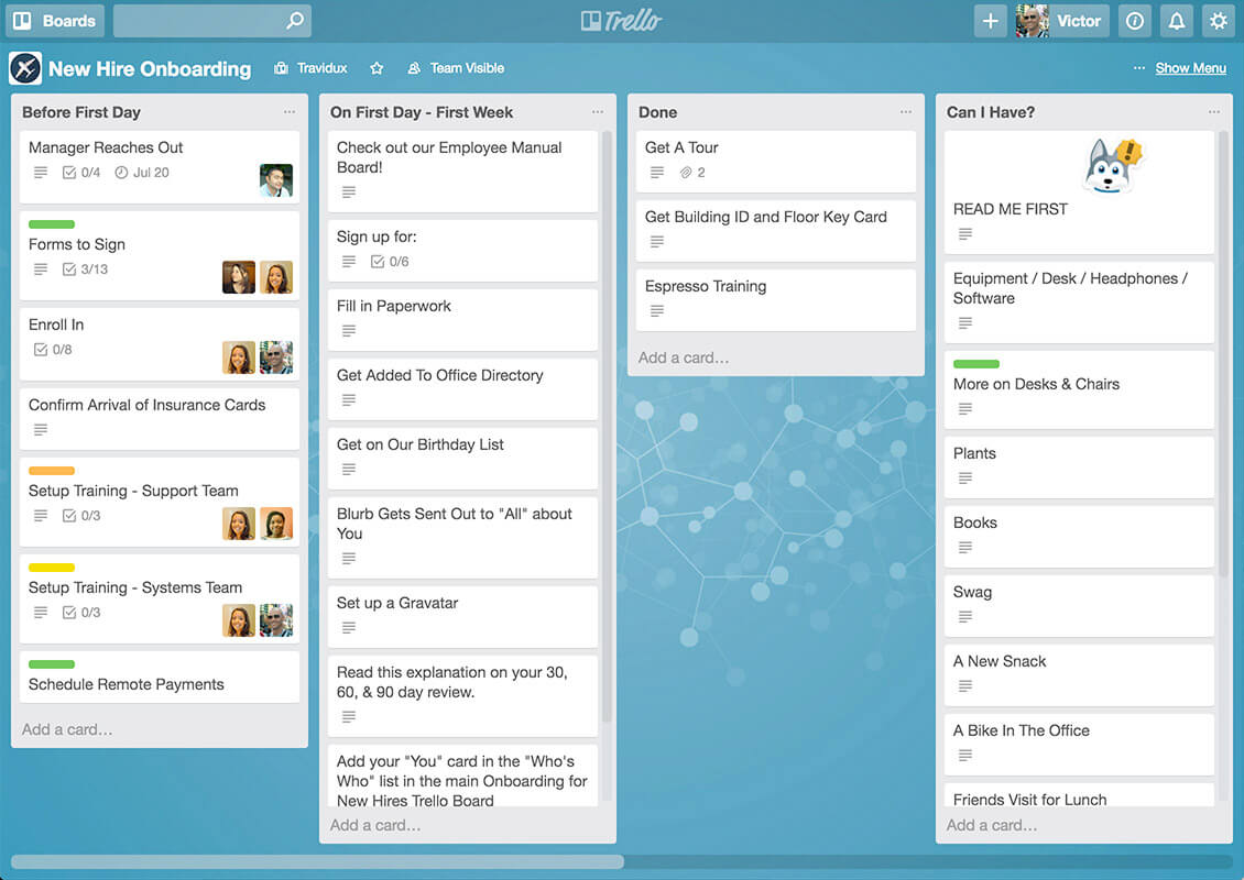 Trello can enhance team collaboration for a small business in the digital age.
