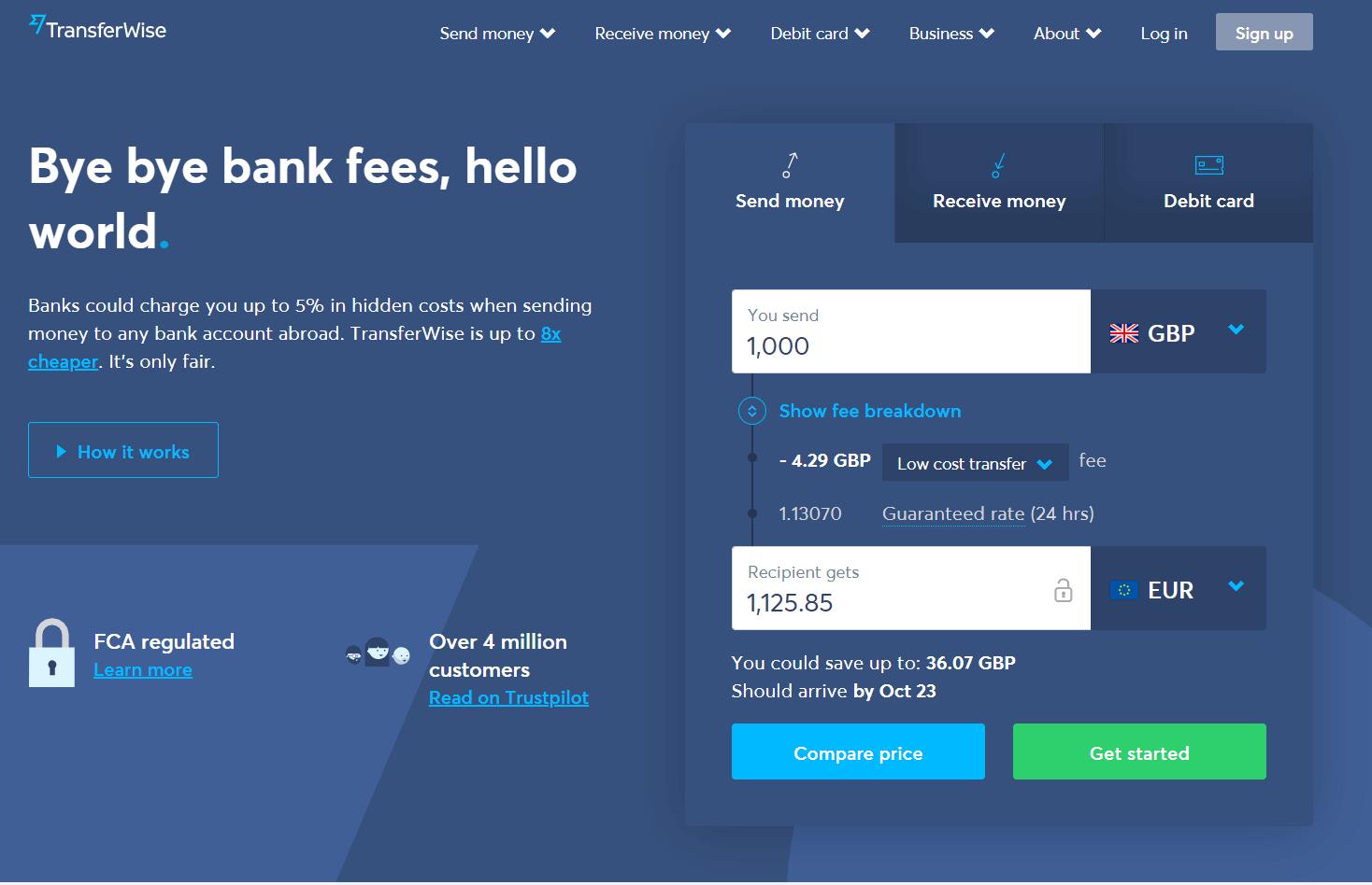Digital-Banks-TransferWise-Homepage