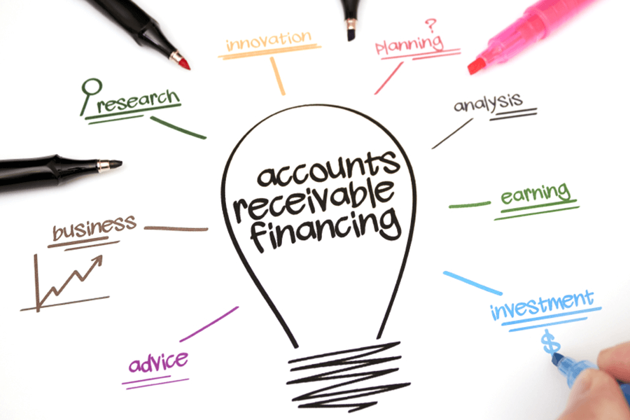 Outstanding accounts receivable gives you the ability to choose from invoice financing and invoice factoring.