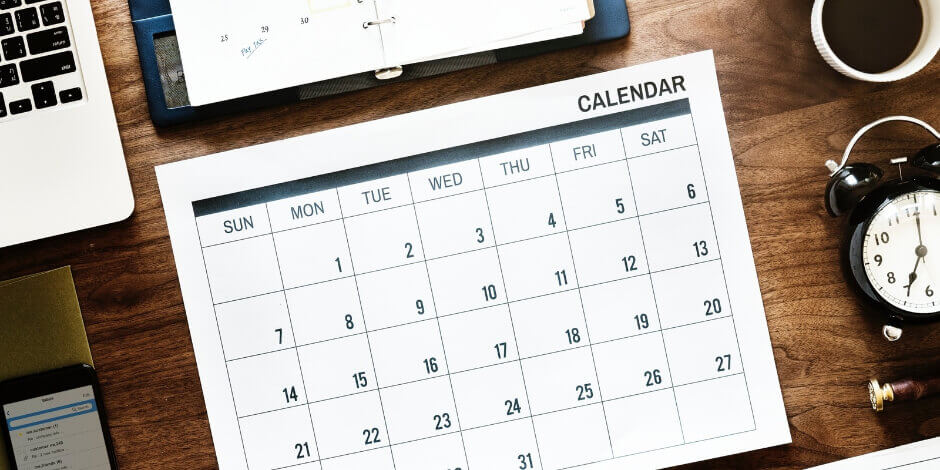 Invoicing clients should typically be done on a particular week-day.