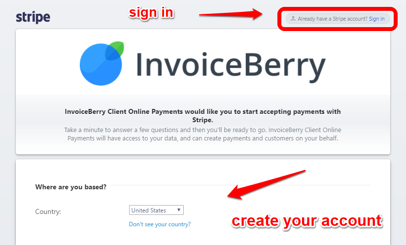 sending invoices to customers get paid online with stripe zoho blog