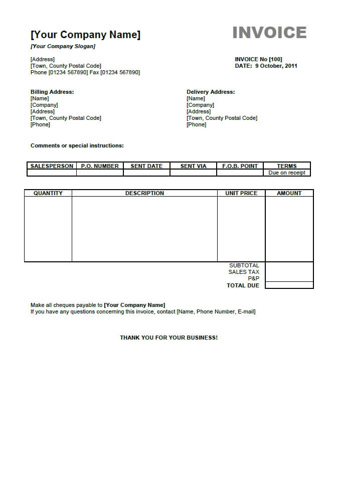Reliefworkersus  Marvellous Open Office Template   Invoice Template  Invoiceberry With Lovely Open Office Template  With Easy On The Eye Carbonless Invoice Forms Also Customer Invoice Software In Addition Invoice For Payment Template And Auto Body Invoice Template As Well As How Do You Write An Invoice Additionally Create Your Own Invoices From Invoiceberrycom With Reliefworkersus  Lovely Open Office Template   Invoice Template  Invoiceberry With Easy On The Eye Open Office Template  And Marvellous Carbonless Invoice Forms Also Customer Invoice Software In Addition Invoice For Payment Template From Invoiceberrycom